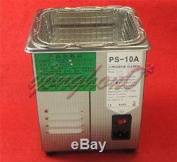 For Dental Lab jewelry Digital Ultrasonic Cleaner 2L with Cleaning Basket 220V