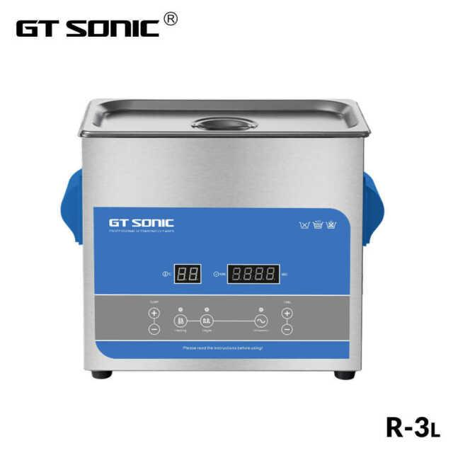 Gt Sonic 3l Professional Ultrasonic Cleaner With Digital Timer&heater