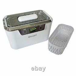 ISonic Digital Ultrasonic Cleaner Personal Model DS300 with Elongated Tank an