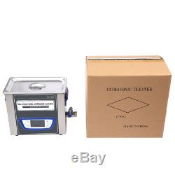 JK Digital LCD Ultrasonic Cleaner Cleaning Machine stainless steel TUC-32 fly