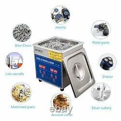 Jewelry Cleaner Machine Professional Ultrasonic Cleaner with Digital 1.3L