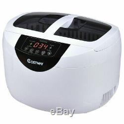 Jewelry Digital Ultrasonic Cleaner Eyeglasses Goggles Rings Gold Silver NEW