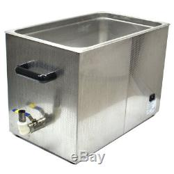 Kendal HB-S-027DHT Commercial Grade Ultrasonic Cleaner Heated 27-Liters Digital
