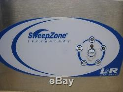 L&R SweepZone 26090 Ultrasonic Cleaner Digital Remote Timer Used Free Shipping