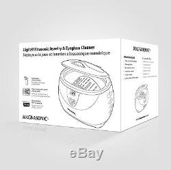 MAGNASONIC Professional Ultrasonic Jewelry and Eyeglass Cleaner With Digital