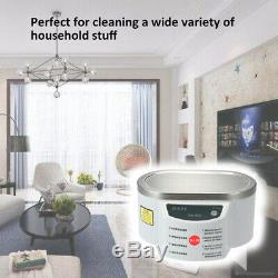 Mini Size Household Digital Ultrasonic Cleaner Watches Glasses Circuit S6Z4