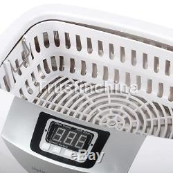 NEW 2.5L Digital Display Ultrasonic Cleaner Jewerly Stainless Steel Tank Timer