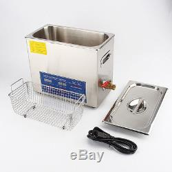 NEW 6L Digital Ultrasonic Cleaner 220V 180W with Timer Universal Cleaning Machine