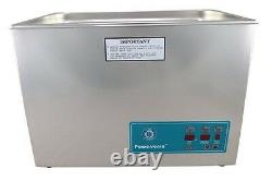 NEW Crest Powersonic P1800D 45kHz Ultrasonic Cleaner With Power Control