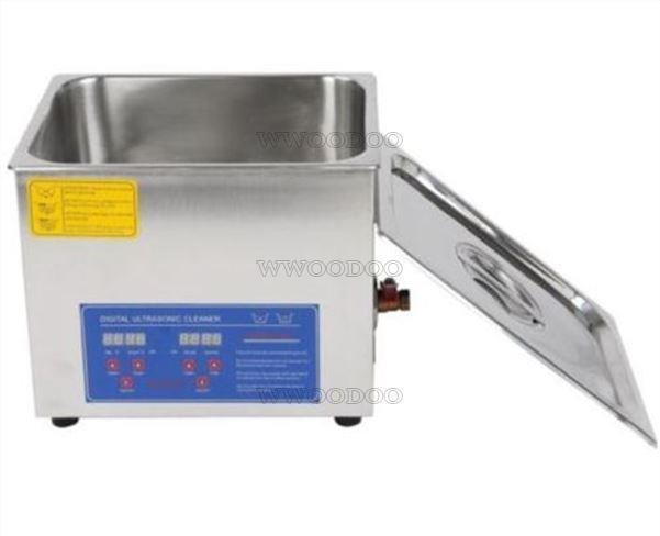New 1.3l Digital Ultrasonic Cleaner Machine Stainless 1pc L