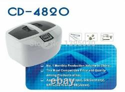 New Digital Cleaner Jewelry Cleaning Machine Steel Washer Water Heating Function