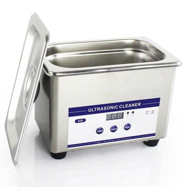 New Digital Stainless Steel Ultrasonic Ultra Cleaner Bath With Tank Timer & Heater