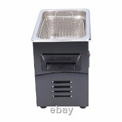 New Ultrasonic Cleaner Digital Display Stainless Steel Cleaning Machine 220V