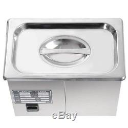 PS-20A 3L 120W Digital Stainless Steel Ultrasonic Cleaner with Industry Heater