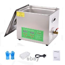 Peitten 3L Ultrasonic Jewelry Cleaner Professional Digital Timer Cleaning Mach