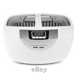 Pro Digital Ultrasonic Cleaner Manicure Nail Tools Disinfection Box Sterilizer