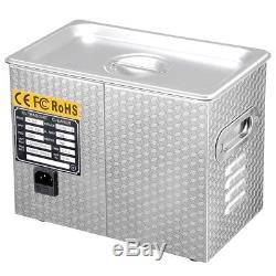Pro Stainless Steel 3L Industry Digital Heated Ultrasonic Cleaner Heater withTimer