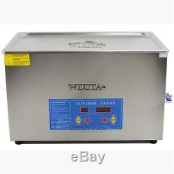 Professional 20L Liter Digital Ultrasonic Cleaner Timer&Heater WithCleaning Bask T