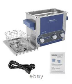 Professional 3L Digital Ultrasonic Cleaner Stainless Steel Bath Heater withBasket