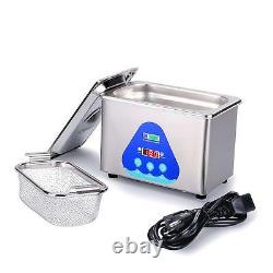 Professional DK SONIC 27.1oz Cleaner Ultrasonic Of Stainless Steel 42,000 Hz