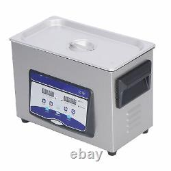 Professional Digital Ultrasonic Cleaner Machine with Timer Heated Cleaning 4.5L