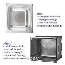 Professional Pro Ultrasonic cleaner for Watch Jewelry with Digital Timer Cleaner