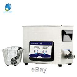 Skymen Digital Ultrasonic Cleaner 6L Heated Timer DEGAS Cleaning Solution