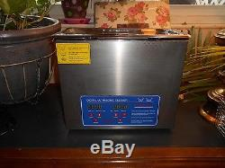 Stainless Steel 6.5 L Digital Industry Heated Ultrasonic Cleaner Heater withTimer