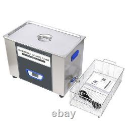 TUC-300 Digital LCD Ultrasonic Cleaner Cleaning Machine stainless steel EM