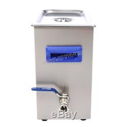 TUC-65 Digital LCD Ultrasonic Cleaner Cleaning Machine stainless steel 200W 6.5L