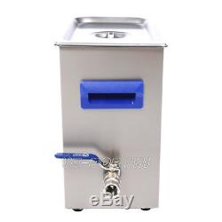 TUC-65 Digital LCD Ultrasonic Cleaner Cleaning Machine stainless steel VEP