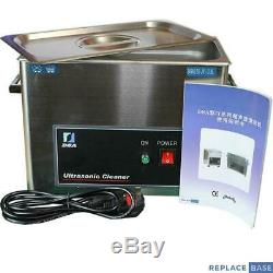 Ultrasonic Bath 3.8L Cleaner Digital Stainless Steel Ultra Sonic Tank Cleaning