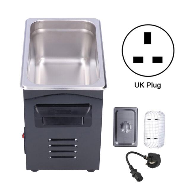 Ultrasonic Cleaner Digital Display Stainless Steel Cleaning Machine 220v