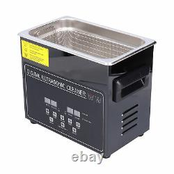 Ultrasonic Cleaner Digital Display Stainless Steel Cleaning Machine YM23A 220V