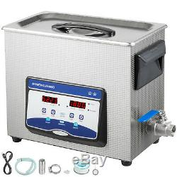 Ultrasonic Cleaner Jewelry Cleaner Ultrasonic Machine 6.5L Digital Sonic Cleaner