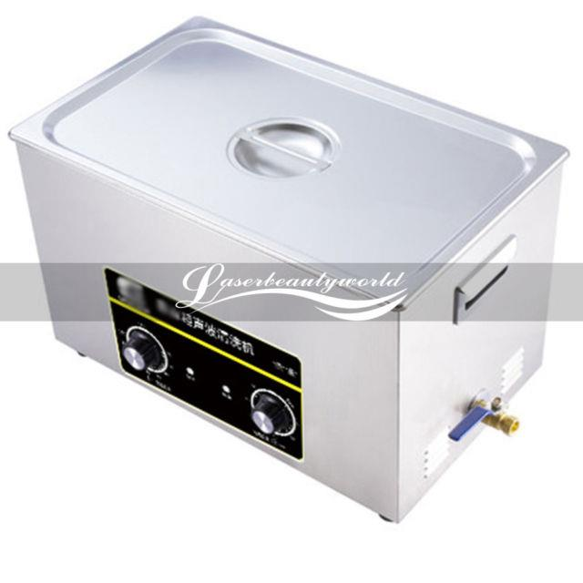 Ultrasonic Cleaner Stainless Steel Industry Digital Heated Heater Timer Cleaning