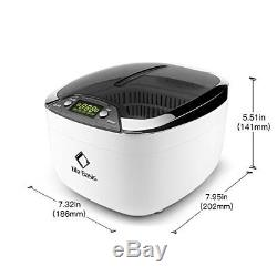 Ultrasonic Cleaner with Digital Timer Watch/CD Stand Life Basis Professional