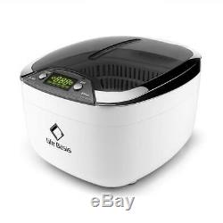 Ultrasonic Jewellery Cleaner LifeBasis 850ml with Digital Timer for Cleaning