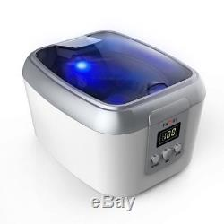 Ultrasonic Polishing Jewelry Cleaner with Digital Timer for 5 Modes of Cleaning