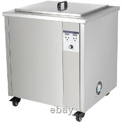 VEVOR 130L Ultrasonic Cleaner Industry Jewelry Cleaner Digital Heater with Timer