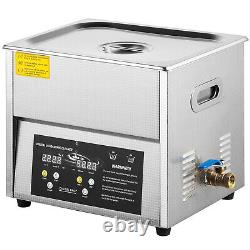VEVOR 6L Ultrasonic Cleaner Stainless Steel Digital Jewerly Watch Clean with Timer