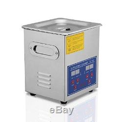 VEVOR Commercial Ultrasonic Cleaner 2L Heated Ultrasonic Cleaner with Digital
