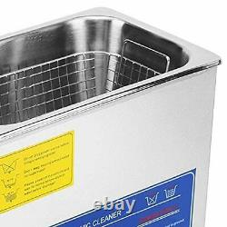 VEVOR Commercial Ultrasonic Cleaner 3L Heated Ultrasonic Cleaner with Digital