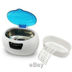 VI 600ml Sonic Wave Digital Ultrasonic Cleaner Jewelry Glasses Watch Cleaning