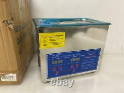 Vevor Digital Ultrasonic Cleaner PS-20A 120W with Lid 3.2L